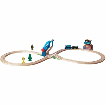 Chuggington Thomas & Friends Bridge & Crane Figure 8 Set