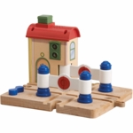 Chuggington Wood Crossing Platform with Vee