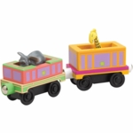 Chuggington Wood Safari Cars- 2 Pack