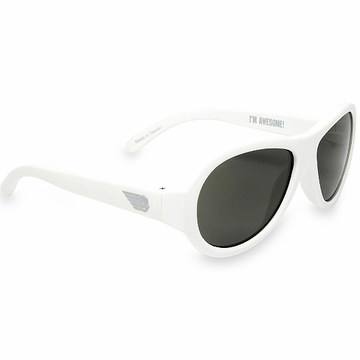 Classic Babiator Sunglasses - Wicked White (3+ Years)