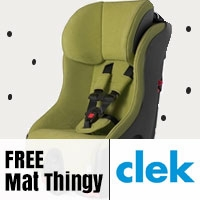 Clek FREE Mat Thingy with Convertibles