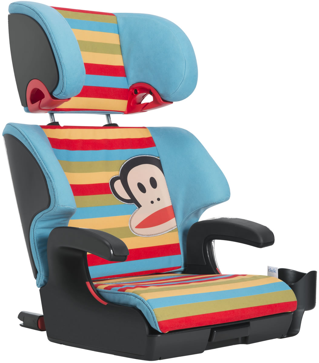 Clek Paul Frank Special Edition Olli Booster Car Seat