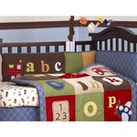 CoCaLo A to Z Boy Crib Bumper