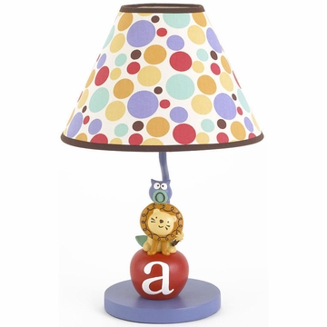 CoCaLo Alphabet Babies Lamp Base & Shade
