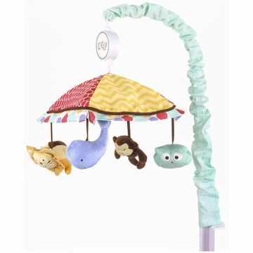 CoCaLo Alphabet Babies Musical Mobile