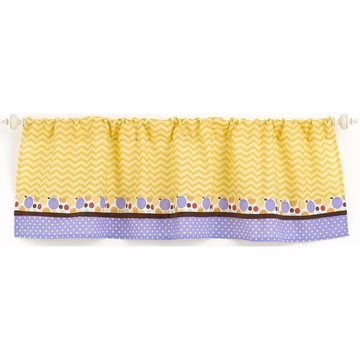 CoCaLo Alphabet Babies Window Valance