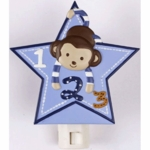 CoCaLo Baby Monkey Mania Night Light