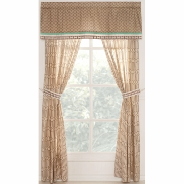 CoCaLo Capri Window Drapes - Set of 2