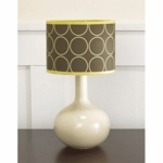 CoCaLo Couture Cyprus Lamp Base & Shade