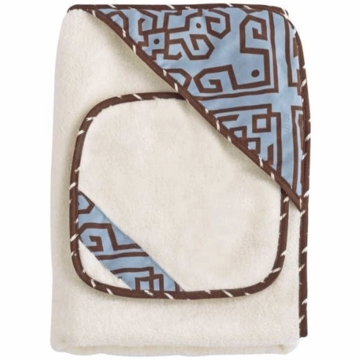 CoCaLo Hooded Bath Wrap & Wash Cloth Set - Corlu