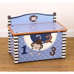 CoCaLo Monkey Mania Toy Box