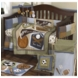 CoCaLo Sports Fan 6 Piece Crib Bedding Set
