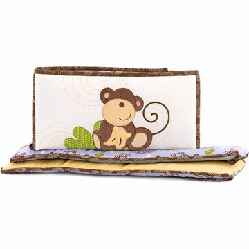 CoCo & Company Monkey Time Crib Bumper