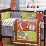 CoCo & Company Road Work Crib Bumper