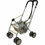 Combi Coccoro Flash Stroller Frame in Beige