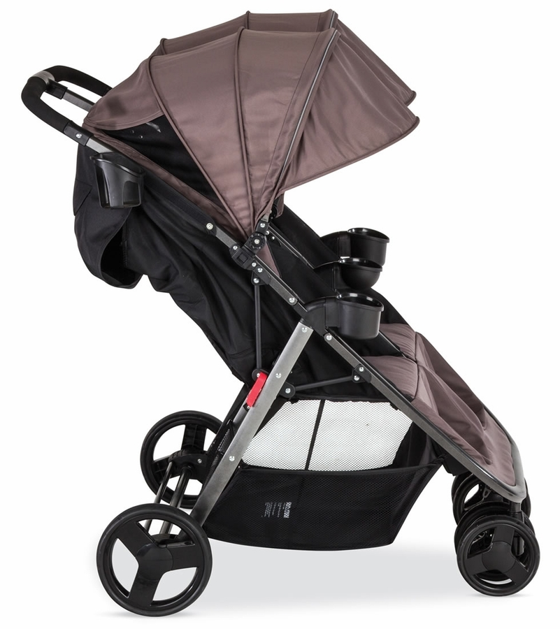 Combi Fold N Go Double Stroller - Caribou