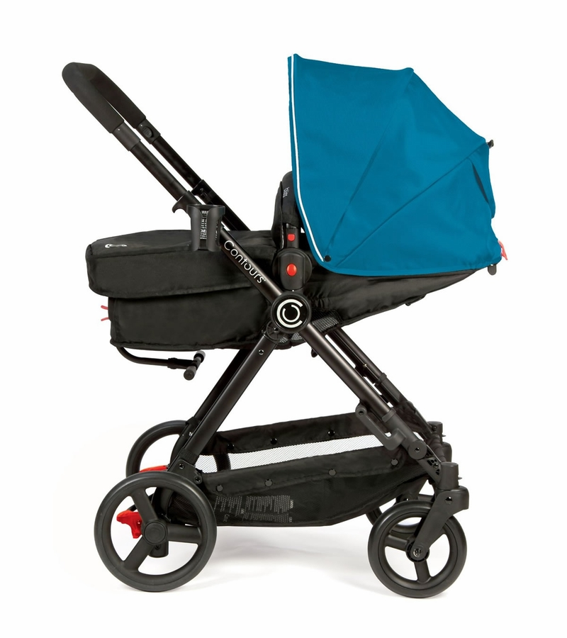 Contours Bliss 4-in-1 Baby Stroller System - Laguna Blue