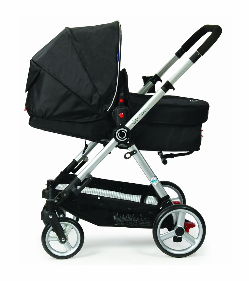 Contours Bliss 4-in-1 Baby Stroller System - Wilshire Black