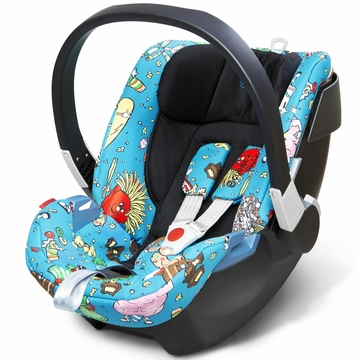 Cybex Aton 2 Infant Car Seat - Food Fight