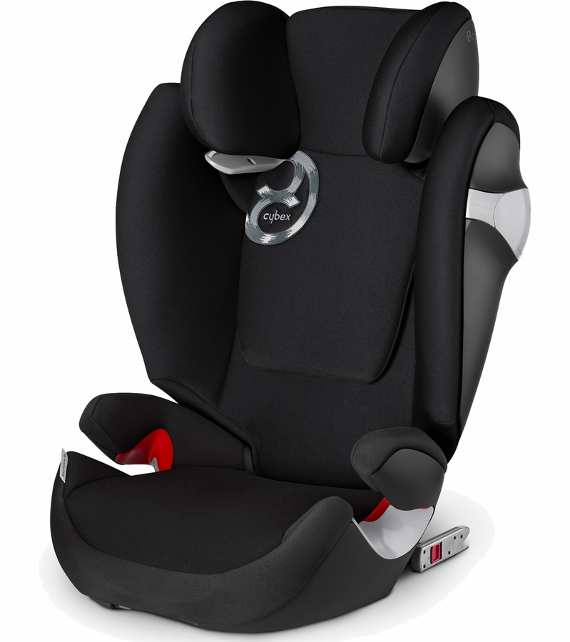 Cybex Solution M Fix Booster Car Seat Black Beauty