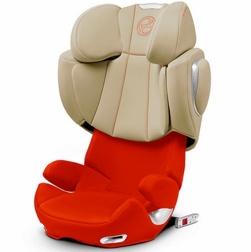 Cybex Solution Q-Fix Booster Car Seat - Autumn Gold