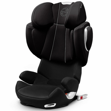 Cybex Solution Q-Fix Booster Car Seat - Charcoal