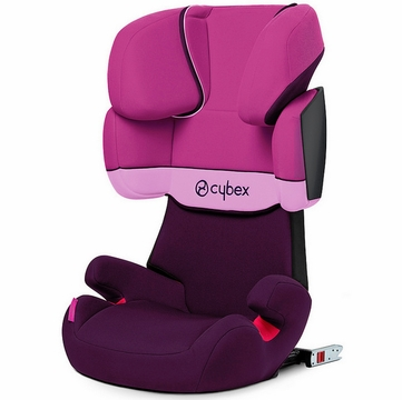 Cybex Solution X-Fix Booster Car Seat - Purple Rain