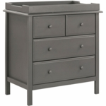 DaVinci Autumn 4 Drawer Dresser with Changing Tray in Slate