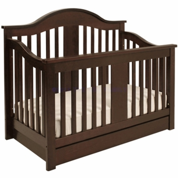 DaVinci Cameron 4 in 1 Convertible Crib with Bottom Drawer in Espresso