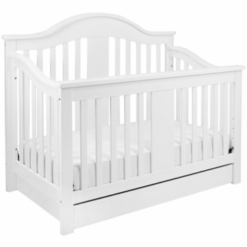 DaVinci Cameron 4 in 1 Convertible Crib with Bottom Drawer in White