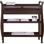 DaVinci Emily Changing Table with Dresser in Espresso Finish