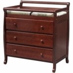 DaVinci Emily Three Drawer Changing Table in Cherry