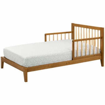 DaVinci Highland Toddler Bed in Chestnut & Natural