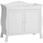 DaVinci Parker 2 Door Changer in White
