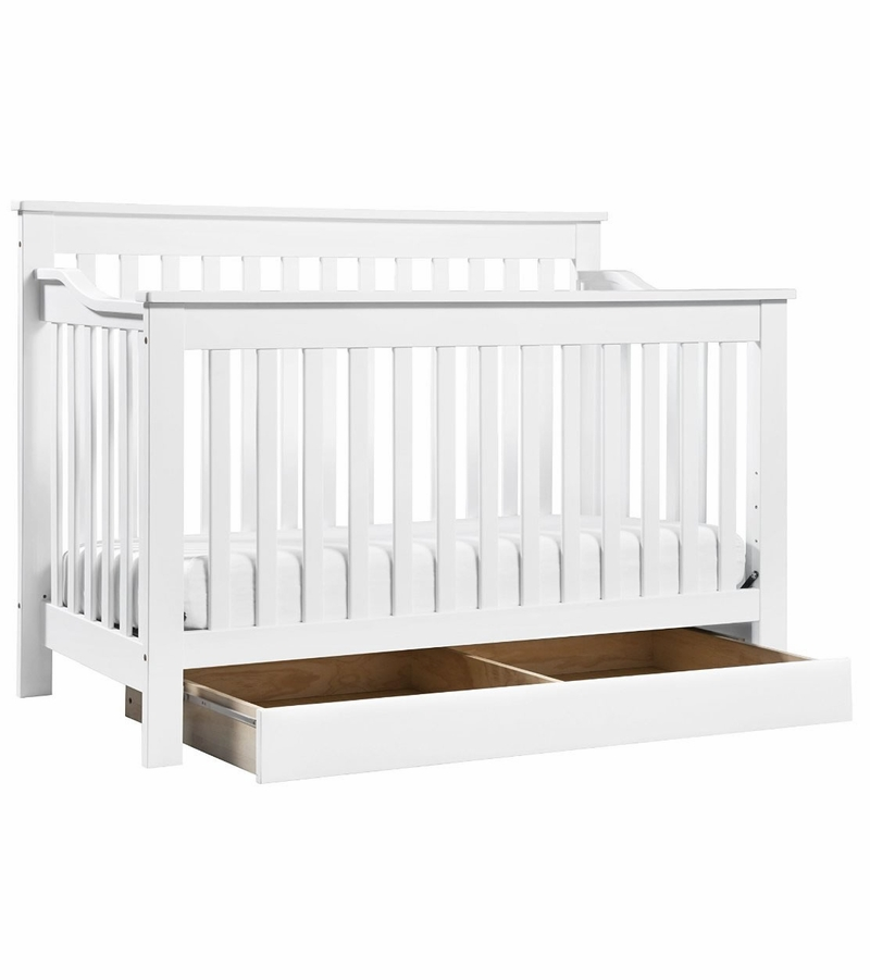 DaVinci Piedmont 4-in-1 Convertible Crib & Toddler Bed ...
