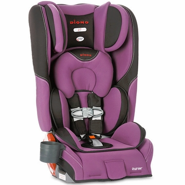 Diono Rainier Convertible + Booster Car Seat - Orchid