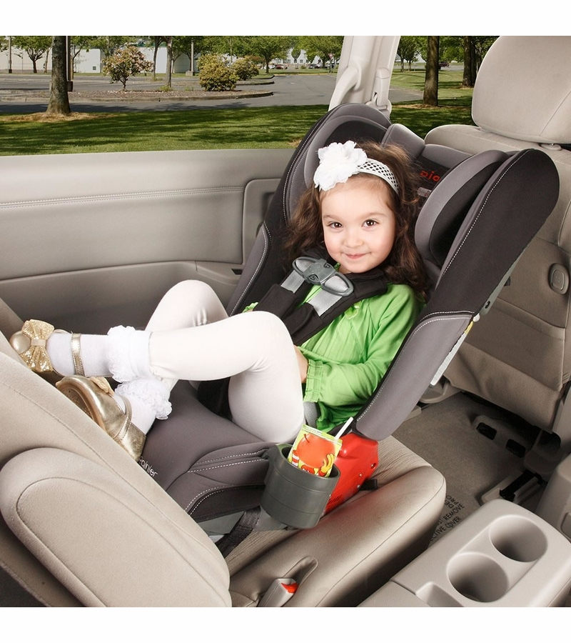 Diono Rainier Convertible Booster Car Seat White