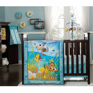 Disney Baby Nemo 8 Piece Crib Bedding Set by KidsLine