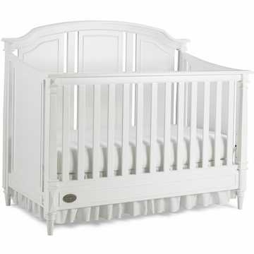 Dolce Babi Bella Convertible Crib in Snow White
