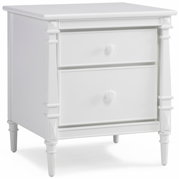 Dolce Babi Bella Nightstand in Snow White