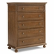 Dolce Babi Naples 5 Drawer Dresser in Harvest Brown