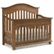 Dolce Babi Naples Convertible Crib in Harvest Brown