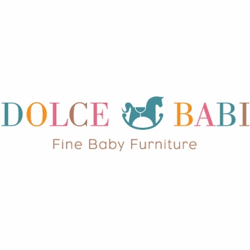 Dolce Babi Naples Full Panel Convertible Crib in Cherry