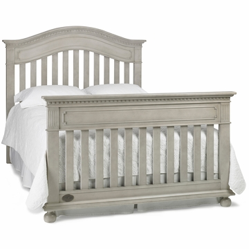 Dolce Babi Naples Universal Bed Rail in Grey Satin