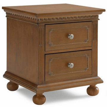 Dolce Babi Nightstand in Harvest Brown