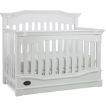 Dolce Babi Roma Convertible Crib in Snow White
