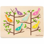 DwellStudio Counting Birds Wooden Puzzle
