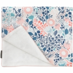 DwellStudio Meadow Powder Blue Stroller Blanket