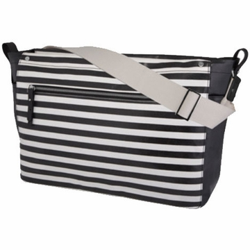 DwellStudio Mini Stripe Ink Sullivan Diaper Messenger