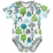 DwellStudio Owls Sky Short Sleeve Bodysuit 0-3 Months